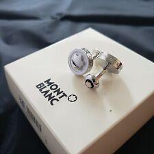 Montblanc Cufflinks - Silver / White