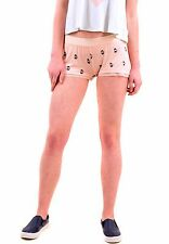 Wildfox Women's Authentic French Press Sleep Short Peach Keen S RRP £48 BCF75