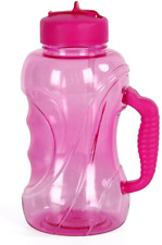 WELTRXE Large Water Bottle with Drinking Straw, 1.5 Litre Sports Bottle with ml