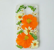 real flower phone case iphone case pressed flowers case samsung case floral case