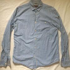 BEN SHERMAN BLUE LONG SLEEVE BUTTON DOWN DRESS SHIRT MEDIUM