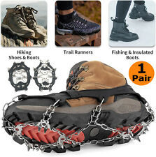 New listing Winter Hiking Ice Climbing Crampons Snow Chains For Shoes Anti-slip Cover Spike