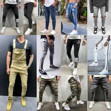 Мужские джинсы мужские брюки узкие джинсы эластичные джинсы рип джинсы повседневные брюки джинсовые брюки