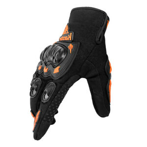 Touch Screen Gloves Motorcycle Hard Knuckle Full Finger Gloves Protective Gear