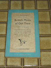 Pelican Book British Music Of Our Time A.L. Bacharach Vintage 50s England