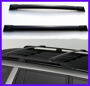 For 07-13 Acura MDX Roof Rack Cross Bar Luggage Carrier Bar OE Style Pair Set