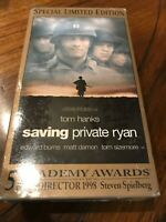 SAVING PRIVATE RYAN VHS BRAND NEW FACTORY SEALED NEVER PLAYED TOM HANKS RARE !!!