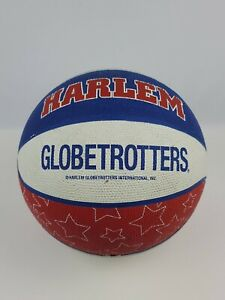 Vintage Harlem Globetrotters Basketball Unsigned 1990s Red White Blue Spalding