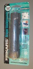 "Fiskars Brayer Backgrounds Snowflakes - 6"" - Never Used"