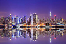 STUNNING NEW YORK CITYSCAPE CANVAS #348 NEW YORK SKYLINE CANVAS PICTURE WALL ART