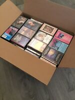 Cassette Tapes Lot Of 120 Tapes - All Kinds Of Music