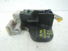 2003 ALFA ROMEO 147 REAR DRIVER SIDE DOOR LOCK MECHANISM B792