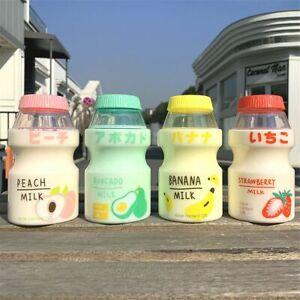 Kawaii BPA Free Carton Sports Yakult Shape Travel Tea Cup Plastic Shaker Bottle