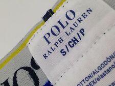 $42 POLO RALPH LAUREN Men UNDERWEAR BLUE COTTON STRETCH PONY BOXER BRIEF SIZE S