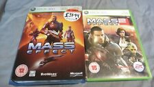 Mass Effect Limited Collector's Edition + Mass Effect 2 Xbox 360