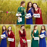 Ever Pretty Plus Long Sleeve Formal Evening Gowns Bridesmaid Lace Dresses 08692