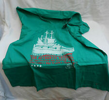 Bongo Heavy Duty 100% Cotton T Shirt - Boating Design - 3XL - BNWT