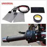Winter Motorcycle Quick Electric Heated Hand Grips Pads Handlebar Heater Warmer