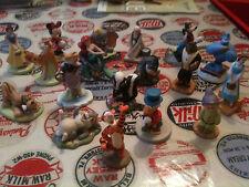 bundle of Disney China figurines, ariel, minnie, eeyore, tigger, dumbo, Belle,