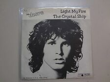 "DOORS: Light My Fire-Crystal Ship-Sweden 7"" 68 MO Metronome Records J45- 788 PSL"