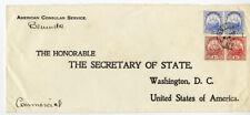 Bermuda Cover American Consul Service to the Secretary of State
