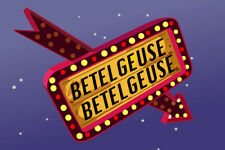 Betelgeuse Marquee Sign Poster 12x18 Inch