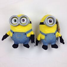 2 Despicable Me Minions Mini Stuffed Animal Plush Figure Bob Stuart Toys Games