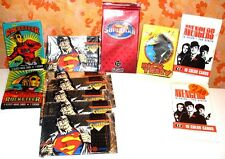 "12 UNOPENED ""CRIME FIGHTERS"" GUM PACKS W/CARDS>>GOOD COND.>> FREE U.S. SHIPPING"