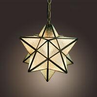 New Handmade stars Pendant Light Ceiling Lamp Chandelier Kids Room Lighting_US