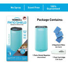 Thermacell Patio Shield Mosquito Repeller w/ 3 Mats & 1 Cartridge – Glacial Blue