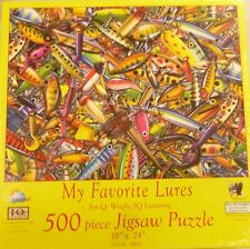 Sunsout Jigsaw puzzle Sports Fishing My Favorite Lures