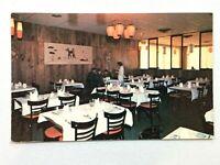 Vintage Postcard 1970's Purple Lantern Restaurant Dining Sault Ste. Marie Canada