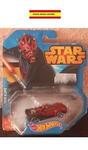 Star Wars Darth Maul 1:64 Hot Wheels Miniature Neuf La Guerre De Les Wars