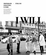 K-POP FT ISLAND 5th Album I WILL (Special Ver.) CD + 160p Photobook + Photocard