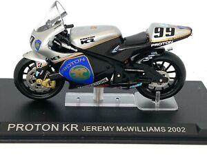 1:24 scale Altaya De Agostini Proton KR Moto GP Bike - Jeremy McWilliams 2002