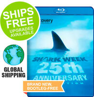 Shark Week: 25th Anniversary Collection (Blu-ray Disc, 2012)NEW, Discovery, Jaws