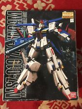 Bandai Mg 1/100 Msz-010 Zz-Gundam A.E.U.G Multipurpose prototype transformable