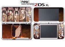 Attack on Titan Shingeki no Titan Anime Game Decal Skin New Nintendo 2DS XL