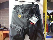 AKITO City III 3 Motorcycle Textile Waterproof Trousers Black Motorbike Pants (38) Regular