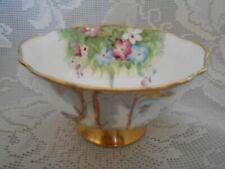 Collectible Paragon Woodland Bluebell Sugar Bowl - Made in England - Much Gold