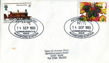 14 de septiembre de 1993 otoño primer día cubierta NVR Peterborough wansford estación Shs