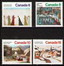 Canada 1974 Sc650-53   Mi576-79 1.70 MiEu  4v  mnh  Christmas (Paintings)