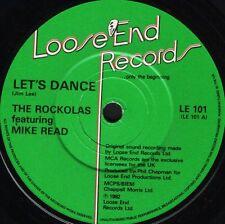 "ROCKOLAS/MIKE READ let's dance/big tears LE 101 uk loose end 1982 7"" WS EX/"