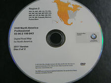 BMW NAVIGATION NAV DISC 2011 OEM DISC 2 OF 2  REGION 2 65902199843