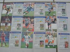 2 Cards wählen PANINI Fotocards 1998 BL Bundesliga 98 Fussball