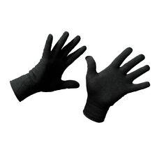 EDZ All Season Gloves Inner Liner Base Layer Black for Summer & Winter