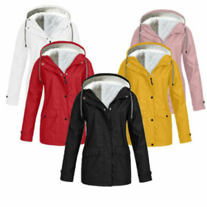 Unisex Rain Mac Waterproof Jacket Cagoule Festival Coats Rainproof Jackets UK