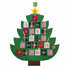 Christmas Tree Advent Calendar New Year Countdown Pendant Gift Decor For Home