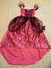 Pink Witch Fancy Dress Halloween Costume Age 11-12 Years