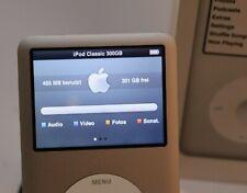Apple iPod classic 300GB Silber 2009 MC293QG/A sehr wenig benutzt, siehe Fotos